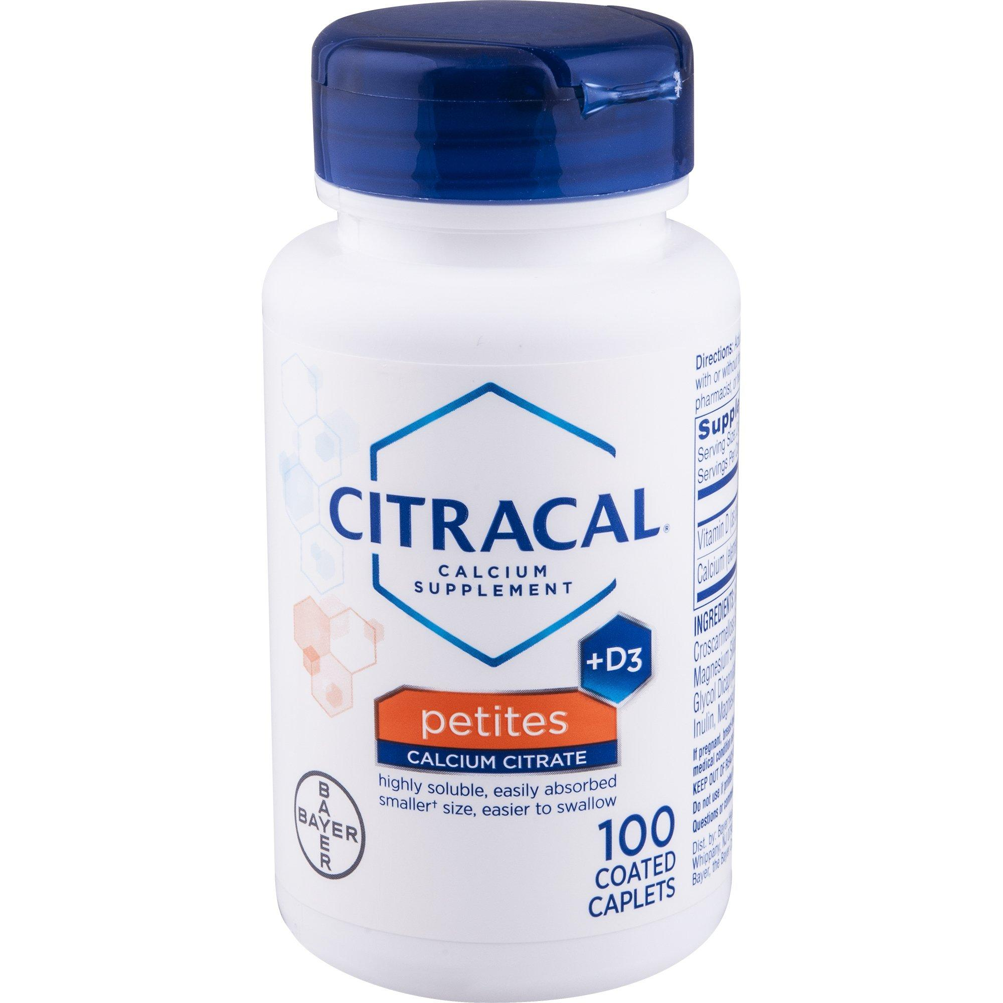 Citracal Petites, Highly Soluble, Easily Digested, 400 mg Ca